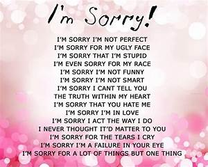 Apology Quotes & Sayings Images : Page 40