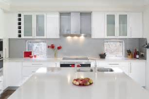 white kitchen ideas glossy white kitchen design trend digsdigs