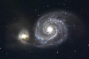 Spirals  Tides  And M51