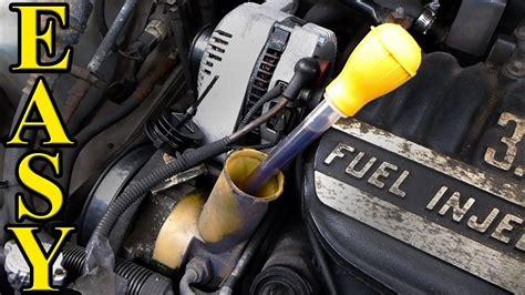 power steering fluid change quick  easy youtube