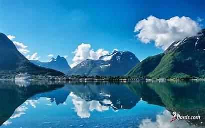 Norway Fjords Fjord Wallpapers Atlantic Desktop Trondheim