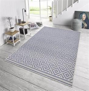 Teppich 140 X 160 : in outdoor design teppich terrasse 160 x 230 cm raute blau creme od 5 teppiche design ~ Bigdaddyawards.com Haus und Dekorationen