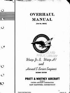 Pratt  U0026 Whitney Wasp Manual Pdf
