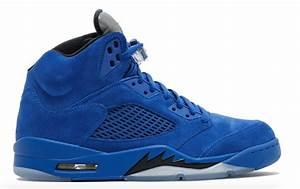 The Air Jordan 5 Blue Suede (Flight Pack East) Land Next ...