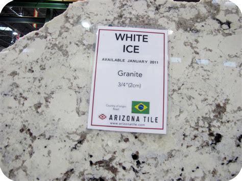 White Ice Granite on Pinterest
