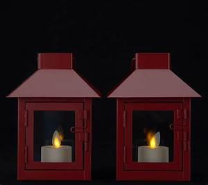 Qvc Halloween Lights Luminara Set Of 2 Mini Lanterns With Tea Lights 2