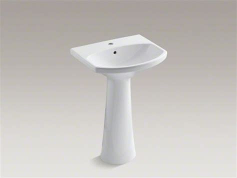 Kohler Cimarron Pedestal Sink by Kohler Cimarron R Pedestal Bathroom Sink With Single