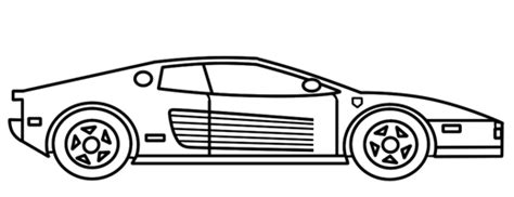You can edit any of drawings via our online image editor before downloading. How to Draw a Ferrari