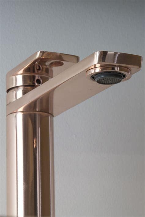 Rose Gold Bathroom Taps   Basin Taps Rose Gold Finish   Kara