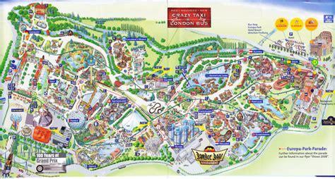 Europapark Rust Karte
