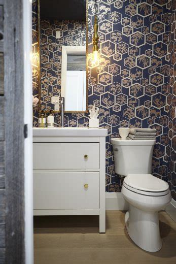 The Powder Room Behind The Design  Home To Win
