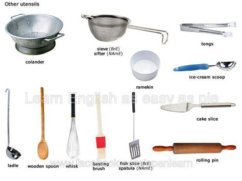 Kitchen Equipment Glossary by Learning At Duques De N 225 Jera Food And Cooking