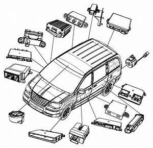 Dodge Grand Caravan Module  Occupant Restraint  Air  Bags