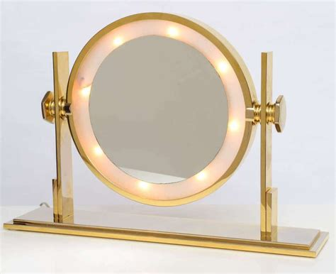 tabletop vanity mirror with lights table top vanity mirror with light for s bedroom