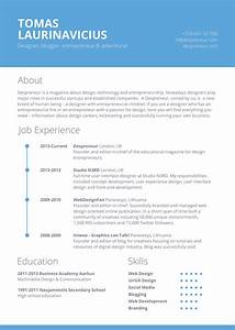 40 resume template designs freecreatives for Free resume layout