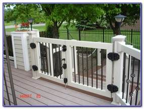 sliding deck gate kit decks home decorating ideas