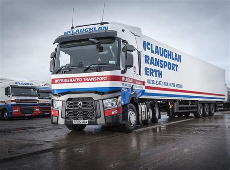 Mclaughlan Transport Takes First Renault Trucks After Trial