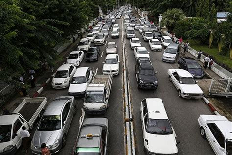 yangon govt plans  flyovers  ease traffic woes