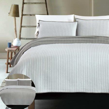 Lightweight Coverlets by X Cross Stitch 3 Reversible Bedding Coverlet Set
