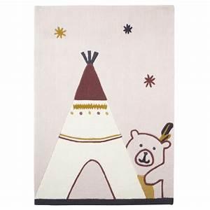 tapis de chambre bebe 70x130cm timouki de sauthon baby With tapis chambre bébé avec livraison fleurs pour naissance