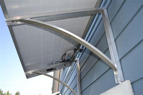 power structures solar bracket   power structures solar awning bracket solar panels