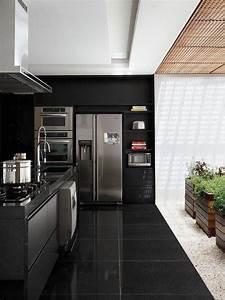 Vinylboden Fliesenoptik Küche : 45 k chenboden modelle und arten von materialien ~ A.2002-acura-tl-radio.info Haus und Dekorationen
