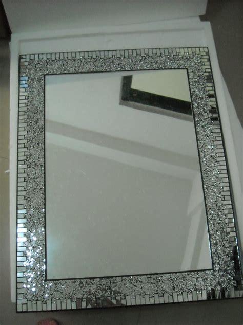 mosaic framed bathroom mirror mosaic mirror for home decoration bathroom by laiwu