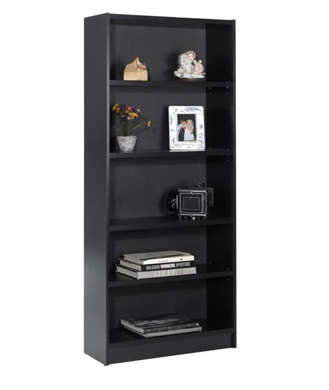 24 inch tall bookcase nexera essentials 72 inch tall bookcase black 731206