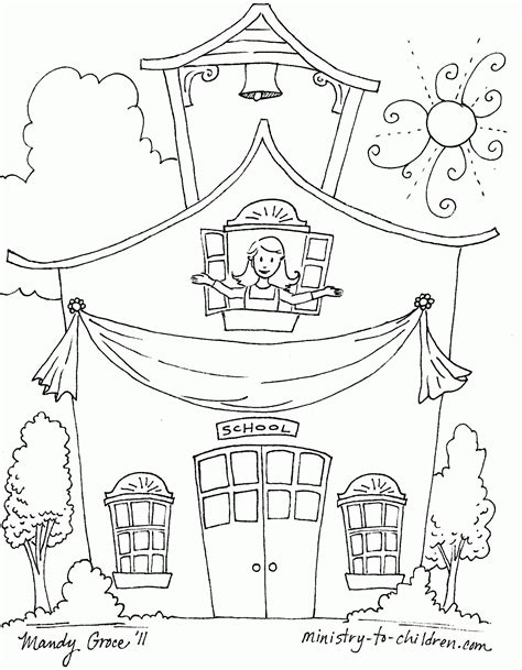 Last Day Of School Coloring Page Coloring Home