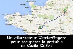 Paris Angers Voiture : le chauffeur de c cile duflot a fait un aller retour de 600km pour r cup rer le portable de la ~ Maxctalentgroup.com Avis de Voitures