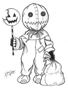 63 Best HORROR ADULT COLORING PAGES images | Coloring