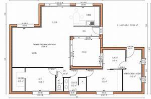 Plan De Maison 4 Chambres Avec Patio