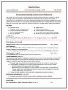 Sample Resume Gallery Your Career Forward Resume Sample For A Logistics Executive Susan Ireland Logistics Manager CV Template Example Job Description Professional Entry Level Logistics Management Templates To