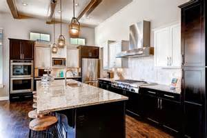 glass pendant lights for kitchen island 25 beautiful transitional kitchen designs pictures