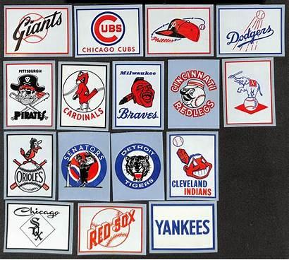 Baseball Fleer Team Complete Grade 1960 Stickers