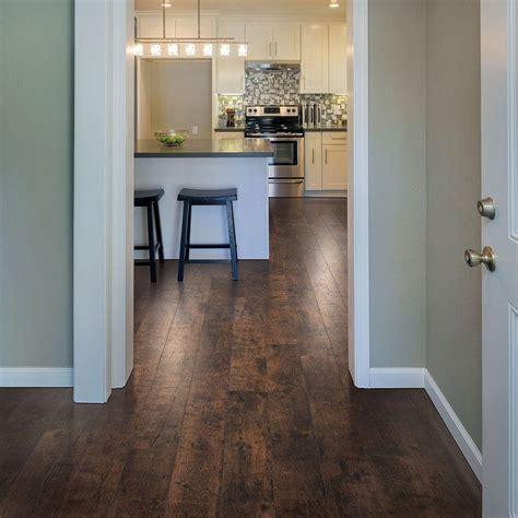 Pergo Xp Flooring In Bathroom by Pergo Xp Rustic Espresso Oak 10 Mm Thick X 6 1 8 In Wide