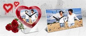Wanduhr Mit Foto : wanduhren und tischuhren mit eigenem foto selbst gestalten ~ Lizthompson.info Haus und Dekorationen