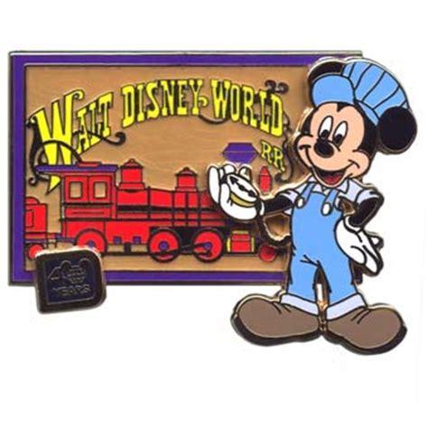 Disney 40th Anniversary Pin   Walt Disney World Railroad