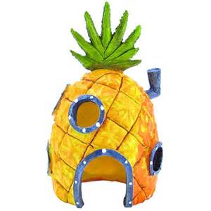 spongebob spongebob pineapple house ornament aquarium