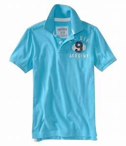 Aeropostale Mens #9 Rugby Polo Shirt | Mens Apparel | Free ...