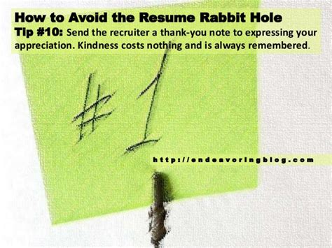 Resume Rabbit by How To Avoid The Resume Rabbit Top 10 Tips