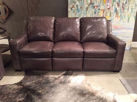 connery reclining sofa by bradington young leather