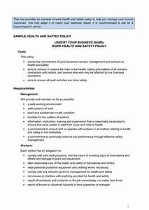 Hse Health And Safety Policy Template Work Health And Safety Policy In Word And Pdf Formats