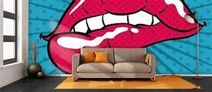 Pop Art Lips Wallpaper