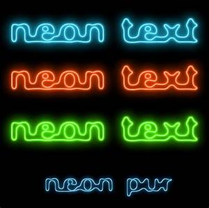 Gimp Text Effects Neon Glow Tutorial