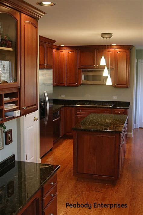kitchens with cherry cabinets and wood floors 25 best ideas about cherry wood floors on 9853