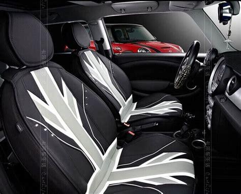 black union jack leather  seasons leather car seat