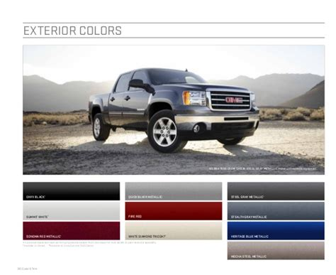 2018 Gmc Exterior Colors   New Car Release Date and Review
