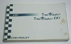 2004 Chevrolet Trailblazer Ext Owners Manual Guide Book