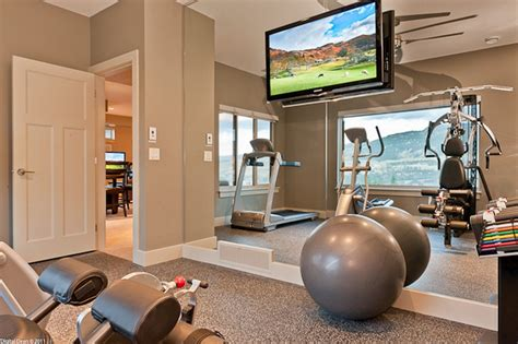 Small Space Home Gym Decorating Ideas ()-onechitecture